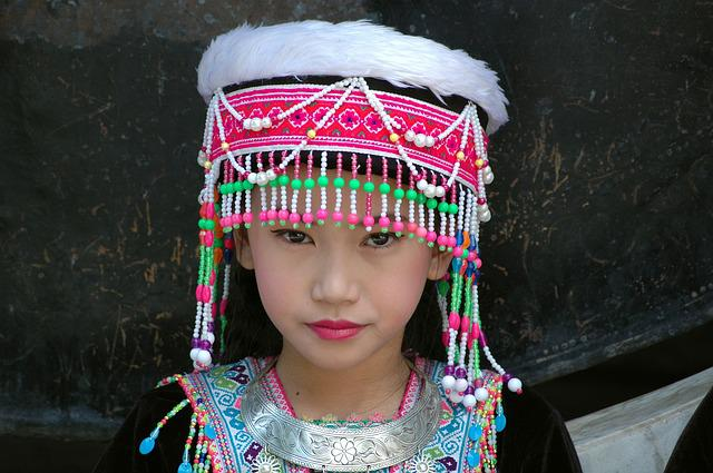 Thailand, Costume, Girl, Woman, Face, Folklore