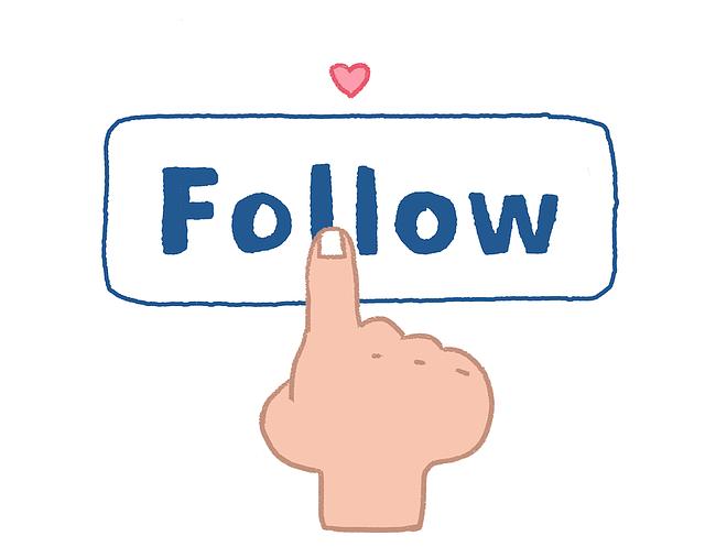Follow, Follower, Social, Social Media