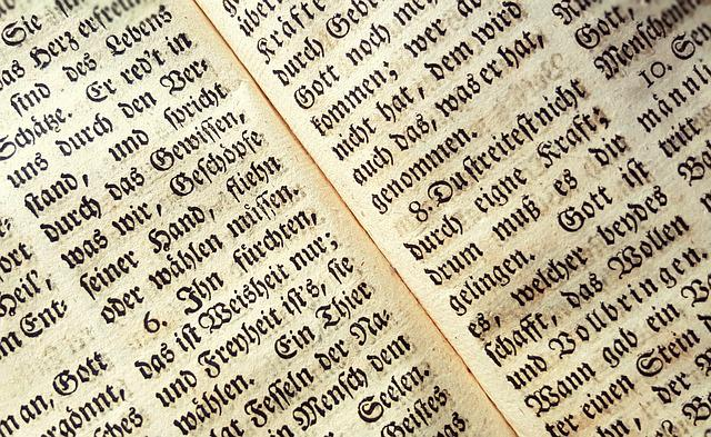 Background, Book, Font, Text, Old German, Book Printing