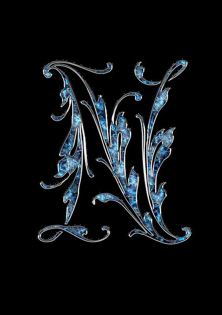 Letter, Letter N, N, Initials, Font, Alphabet