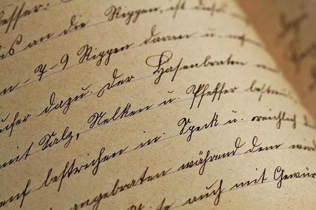 Handwriting, Sütterlin, Vintage, Antique, Font