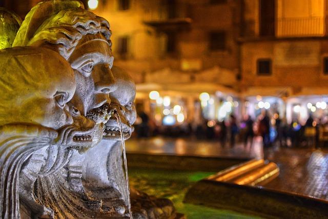 Moor Fountain, Rome, Fontana Del Moro, Piazza Navona