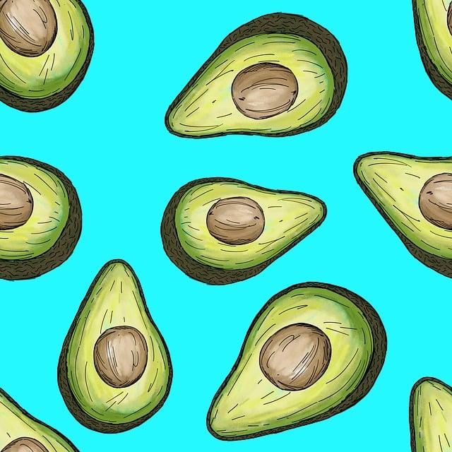 Recipe, Food, Avocado, Healthy, Guacamole, Background