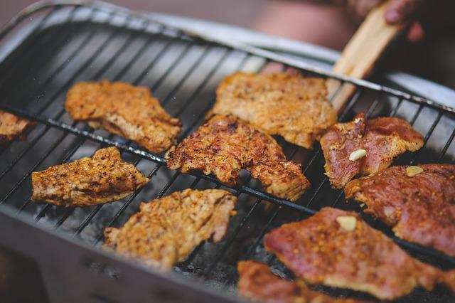 Food, Pork, Grill, Grilling, Bbq, Barbecue, Meal