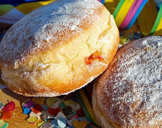 Donut, Berlin, Food, Dough, Pastries, Baked Goods