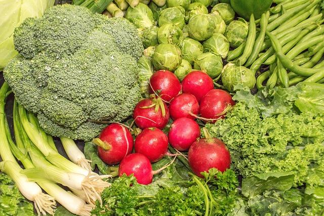 Vegetable, Food, Cabbage, Healthy, Broccoli