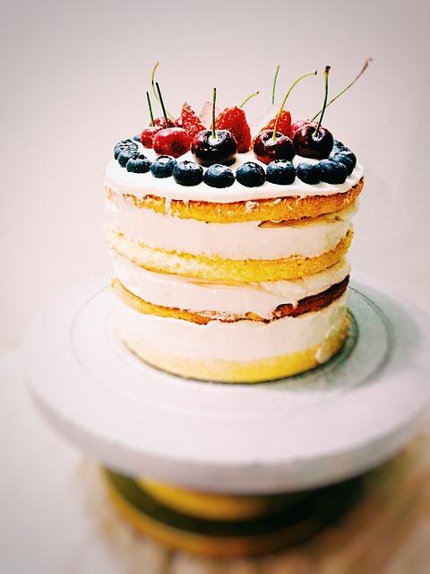 Cake, Birthday Cake, Dessert, Baking, Food