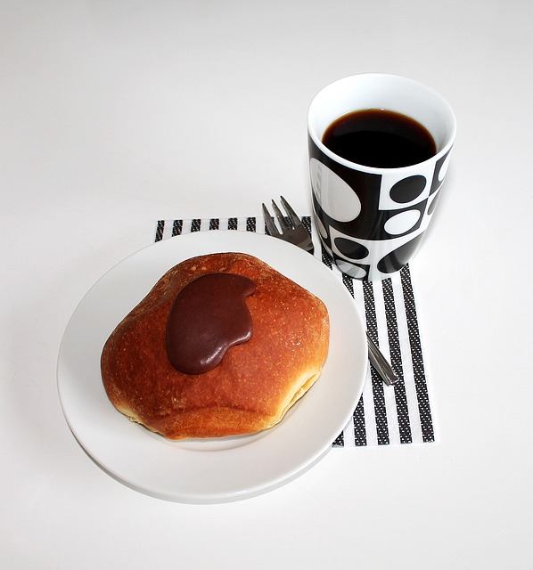 Coffee, Shrovetide Dumpling, Cake, Food, Drink