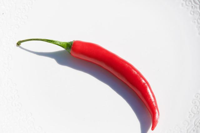 Chili Pepper, Red, Food, Vegetable, Pepper, Paprika