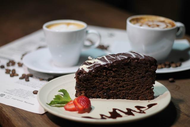 Coffee, Chocolate, Cream, Food