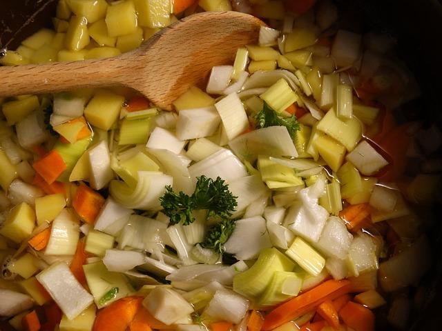 Soup Greens, Vegetables, Stew, Food, Nutrition, Cook