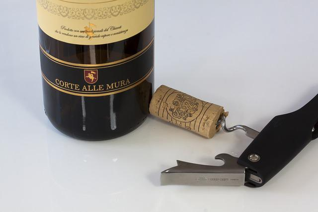 Wine, Wine Corks, Corkscrew, Drink, Bottle, Food