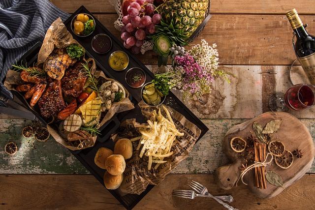 Platter, Food, Delicious Food, Restaurant, Dining
