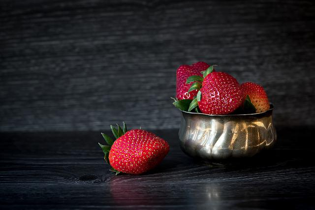Strawberries, Red, Delicious, Fruits, Sweet, Bowl, Food