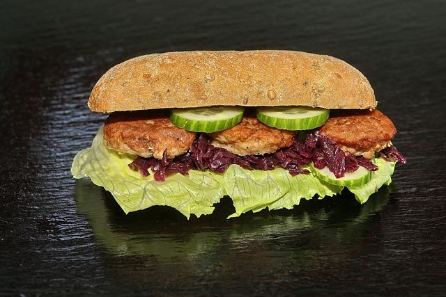 Sandwich, Food, Dining, Bread, Meatball, Salad