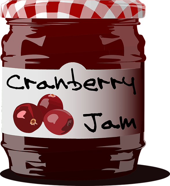 Cranberry, Eat, Food, Fruit, Glasss Jar, Jam, Preserve