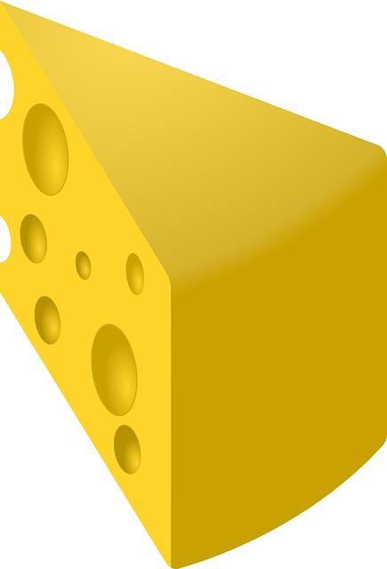 Cheese, Food, Yellow, Edam Cheese, Slice
