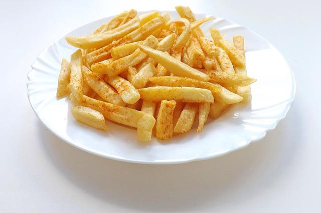 French Fries, Food, French, Plate