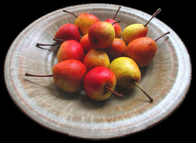 Pears, Fruit, Food, Healthy, Refreshment, Fresh