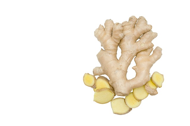 Fresh, Ginger, Isolated, Food, Ingredient, Root