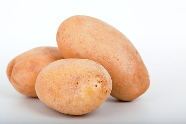 Potatoes, Brown, Close-up, Food, Fresh, Healthy