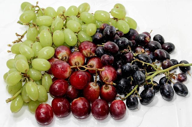 Fruit, Food, Berry, Healthy, Grape