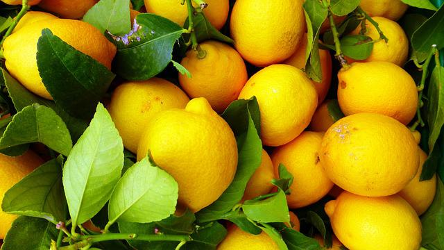 Fruit, Leaf, Food, Juicy, Citrus, Freshness, Lemon