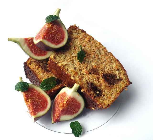 Cake, Figs, Sweet, Fruit, Eat, Food, Dried Fruit