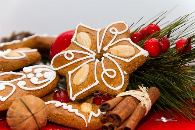 Gingerbread, Bake, Delicious, Christmas, Cookies, Food