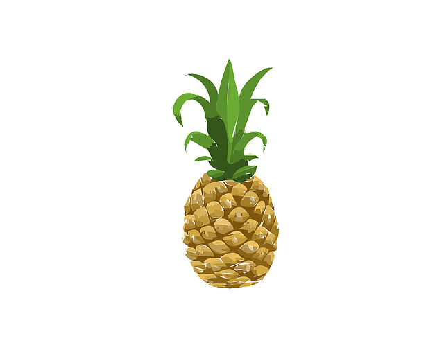 Food, Glitch, Pineapple