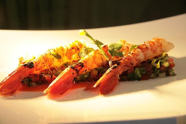 Prawn, Grilled, Sauce, Food, Dinner, Shrimp