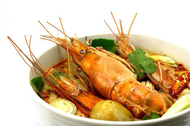 Tom Yum Goong, Hot And Sour Soup, Shrimp, Food