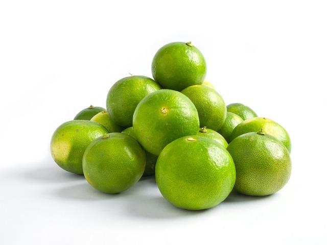 Lime, Green, Lemon, Citrus, Food, Fruit, Diet, Vegan