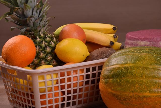 Food, Fruit, Basket, Healthy, Desktop, Market, Diet