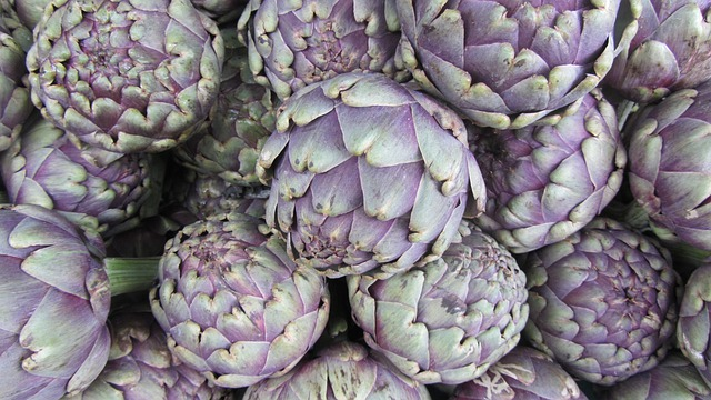 Artichoke, Market, Food, Garden, Eat, Vegetables