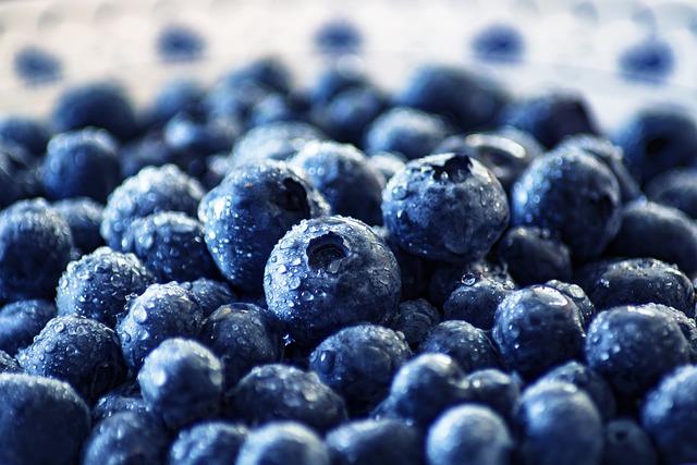 Blueberries, Fruit, Healthy, Nutrition, Food, Fresh