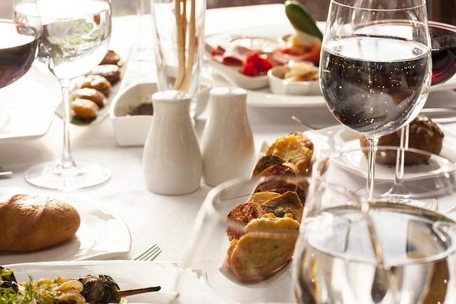 Food, Table, Restaurant, Beverage, Food Photo
