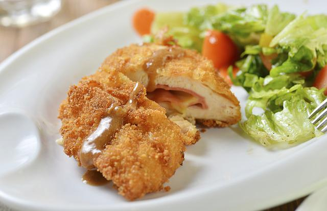 Food Photography, Cheese Fried Chicken, Cheese