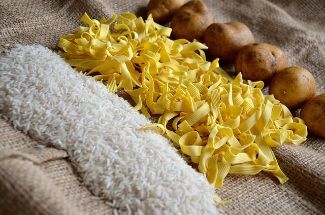Noodles, Rice, Potatoes, Food, Eat, Staple Food