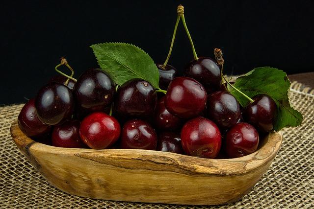 Cherries, Fruit, Nature, Red, Food, Fruits, Ripe