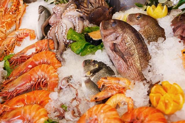 Seafood, Food, Healthy, Sea, Fresh, Fish, Restaurant
