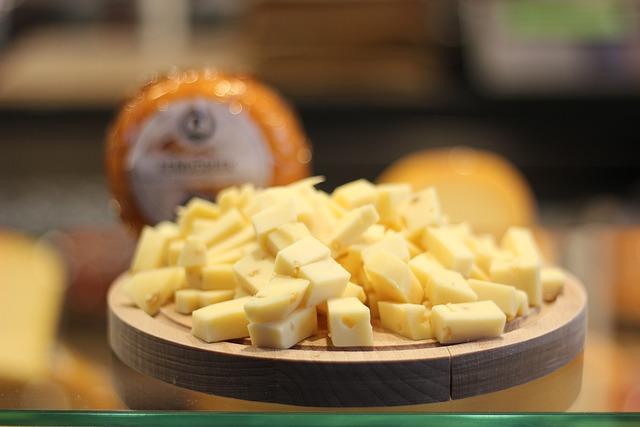Cheese, Food, Rotterdam, Holland, Netherlands, Market