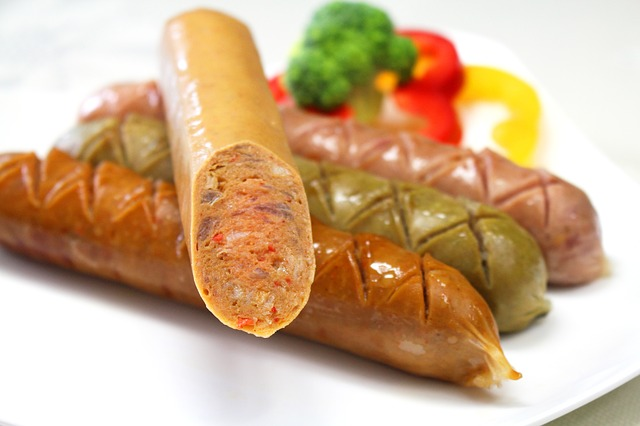 Sausage, Food, Roasted