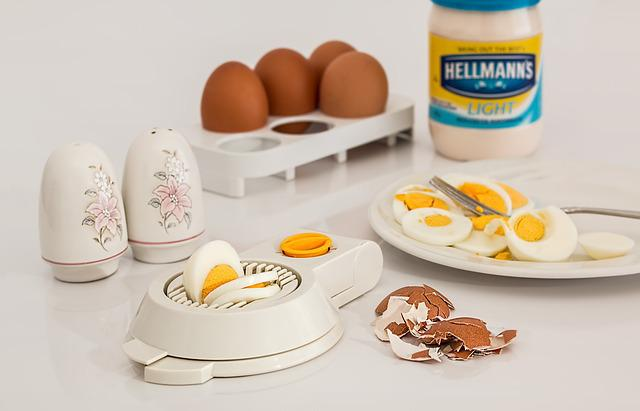 Egg Slicer, Egg, Hard Boiled, Shell, Food, Protein