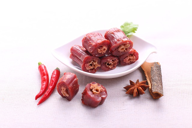 Food Shoot, Duck Necks, Red Pepper