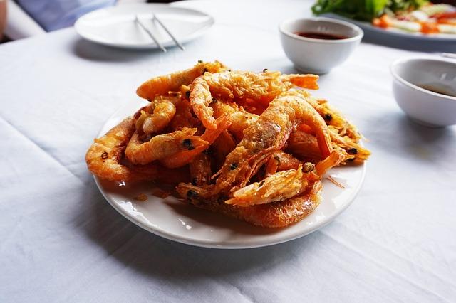 Shrimp, Vietnam, Fry, Shrimp Tempura, Dining, Food