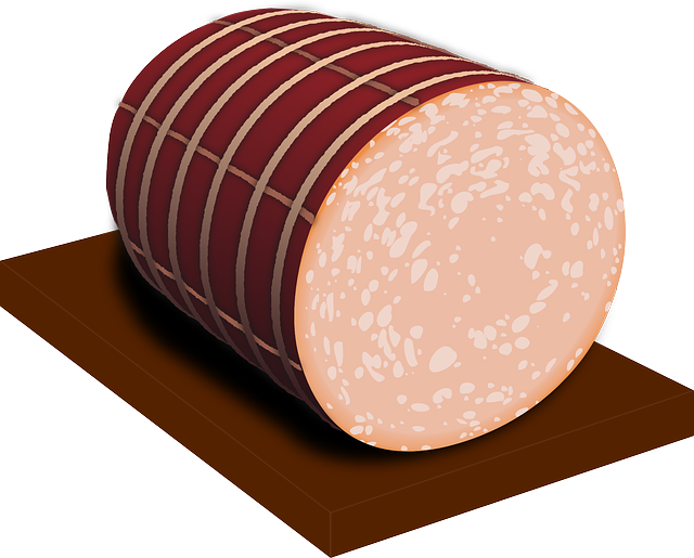 Sausage, Sliced, Pork, Food