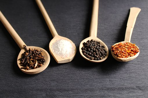 Spoon, Wood, Wooden, Food, Cooking, Dry, Health, Spice