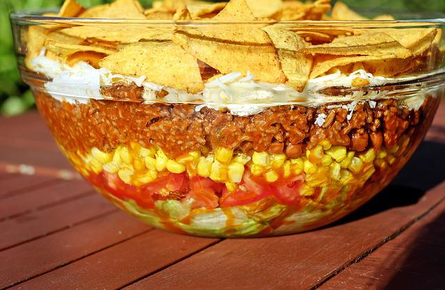 Salad, Taco Salad, Mexican, Sharp, Food