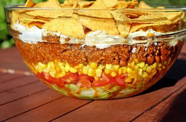 Salad, Taco Salad, Mexican, Sharp, Food